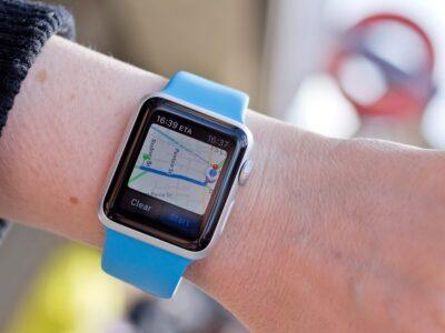 apple watch google maps 1