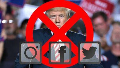 facebook instagram bloqueo a trump